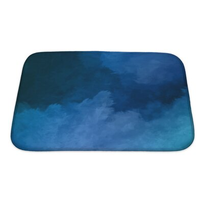 Art Primo Night Sky Digital Watercolor Painting Bath Rug Size: Small