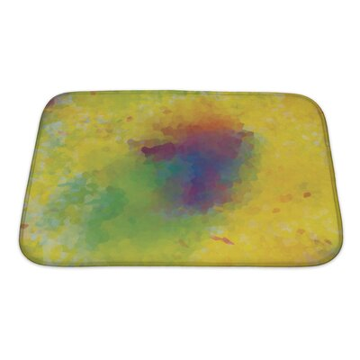 Art Alpha Unusual Color Mosaic Bath Rug Size: Small