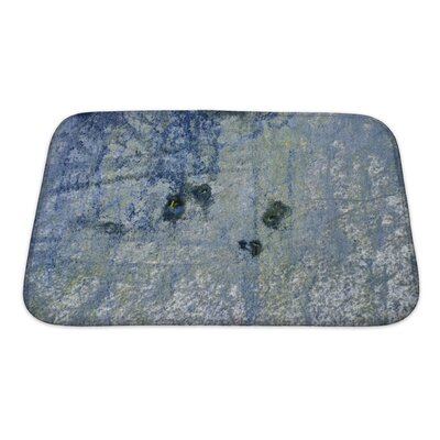 Art Alpha Old Foil with Modern Painting Bath Rug Size: Small