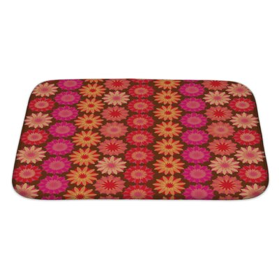 Kilo Crochet Floral Bath Rug Size: Large