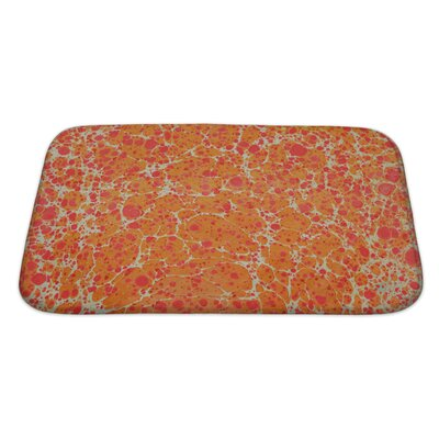 Primo Turkish Ebru Painting Bath Rug Size: Large