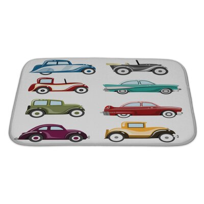 Cars Old Cars Set Bath Rug Size: Large