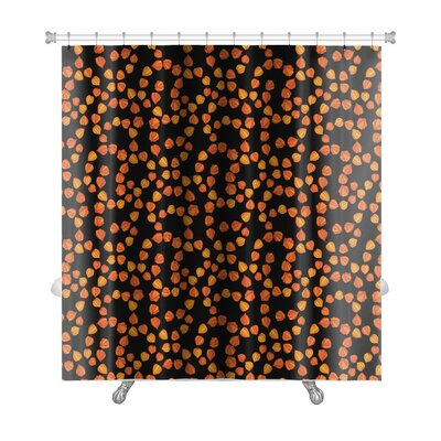 Bravo with Floral Theme of Cherry Premium Shower Curtain