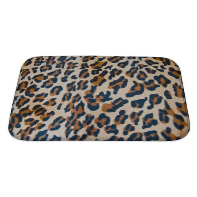 Animals Tiger Skin Bath Rug Size: Large