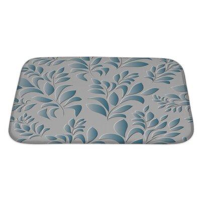 Primo Spring Leaf Bath Rug Size: Large