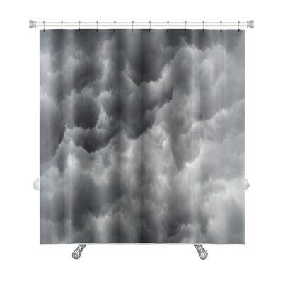Nature Storm Clouds Before a Thunder-Storm Premium Shower Curtain