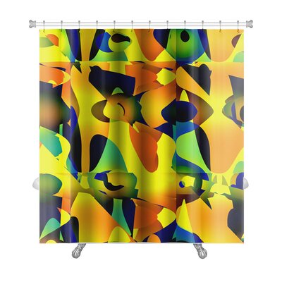 Art Beta Abstractive Unusual or Offbeat Premium Shower Curtain