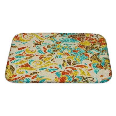 Kilo Retro Mosaic Bath Rug Size: Large