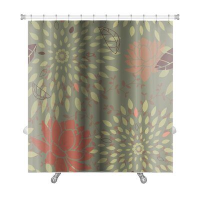 Beta Scalable Pattern Premium Shower Curtain