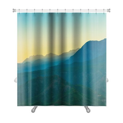 Landscapes Landscape in the Mountains Turkey Premium Shower Curtain