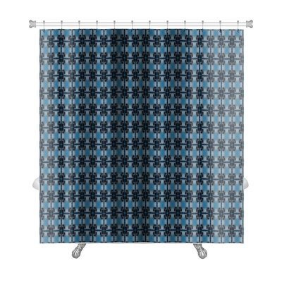 Slide Ethnic Pattern Abstract Kaleidoscope Premium Shower Curtain