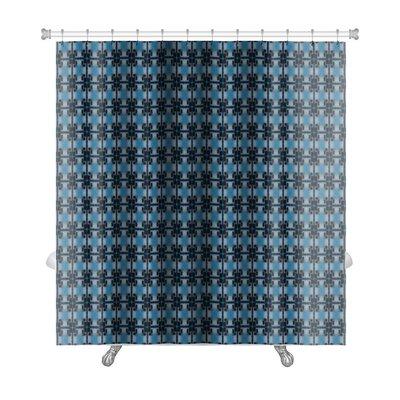 Slide Ethnic Pattern Abstract Kaleidoscope Premium Shower Curtain