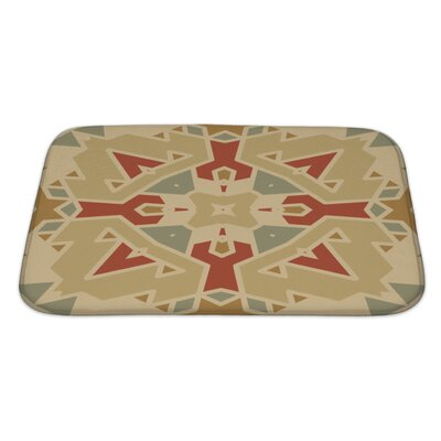 Creek Flat Ethnic Pattern Bath Rug Size: Large