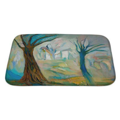Art Alpha Two Dead Trees in the Wood Bath Rug Size: Large