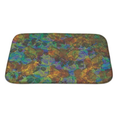 Kilo Abstract Flower Bath Rug Size: Large