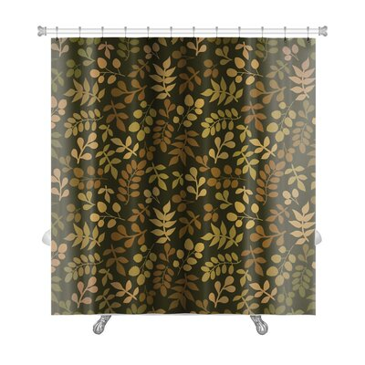 Cappa Leaf Premium Shower Curtain