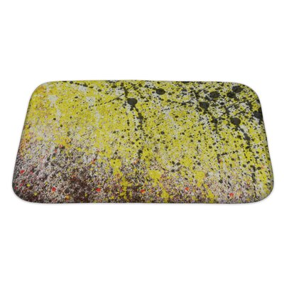Art Alpha Abstract Splashes Bath Rug Size: Large