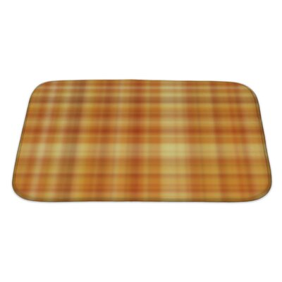 Cappa Plaid Bath Rug Size: Large
