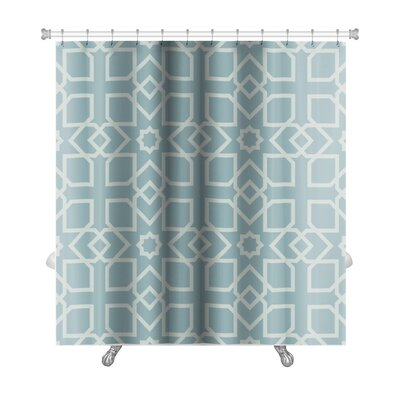 Slide Arabic Geometrical Premium Shower Curtain