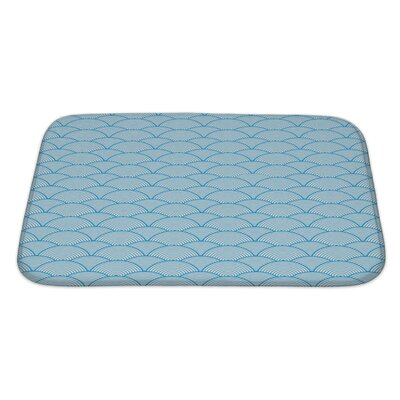 Gecko Chinese Cloud Bath Rug Size: Large