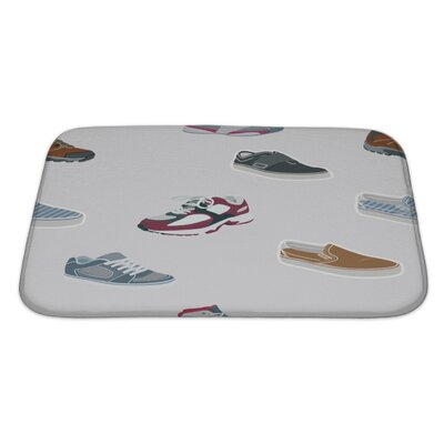 Fun Shoes Sneakers Bath Rug Size: Large