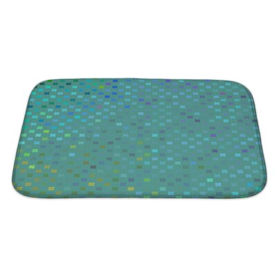 Cappa Leaf Pattern Bath Rug Size: Large