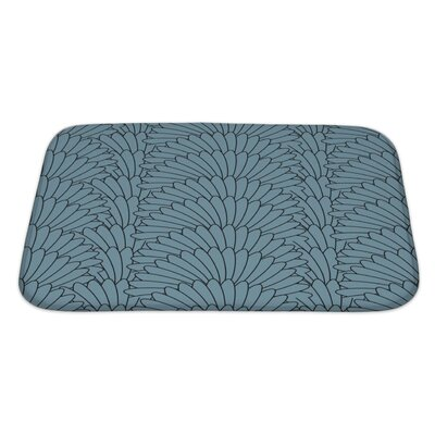 Simple Abstract Stylish Array Bath Rug Size: Large