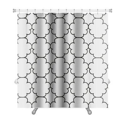 Delta Geometric Islamic Premium Shower Curtain
