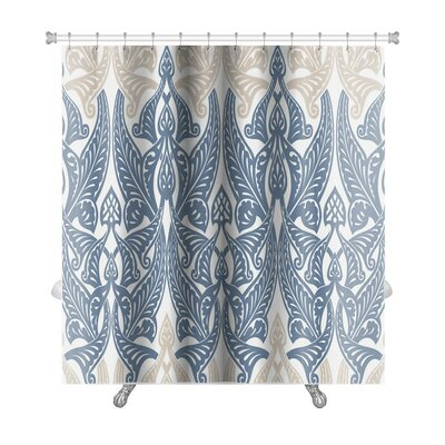 Kilo With Pattern in Islamic Style Premium Shower Curtain