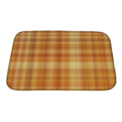 Cappa Plaid Bath Rug Size: Small