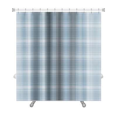 Picnic Plaid Premium Shower Curtain