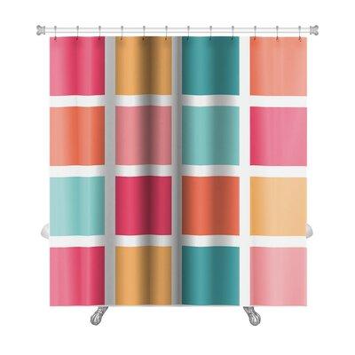 Cappa Tiled Pattern Repeating Premium Shower Curtain