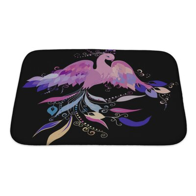 Birds Beautiful Sunbird Bath Rug Size: Small