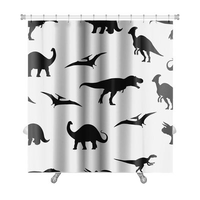 Dinosaurs Dinosaur Pattern Premium Shower Curtain