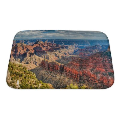 Landscapes North Rim of the Grand Canyon Bath Rug Size: Small