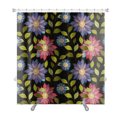 Flowers Decorative Flowers Premium Shower Curtain