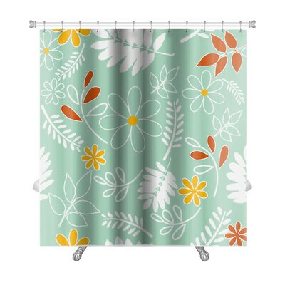 Leaves Leaf Premium Shower Curtain