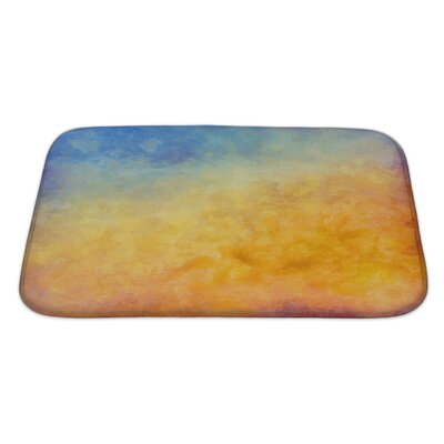 Art Primo Abstract Autumn Digital Oil Painting Bath Rug Size: Large