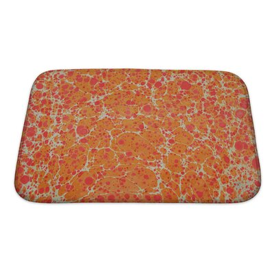 Primo Turkish Ebru Painting Bath Rug Size: Small
