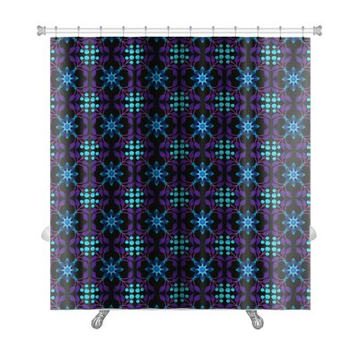 Bravo Floral Islamic Pattern Premium Shower Curtain
