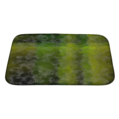 Bravo Fall Abstractive with Fallen Leaves About Autumn or Early Fall as Wallpaper Bath Rug Size: Large
