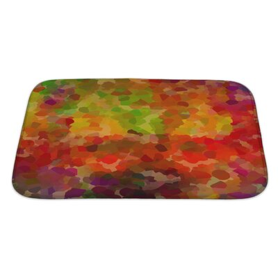 Art Touch Abstract Living Colors Bath Rug Size: Large