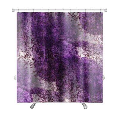Art Primo Impressionism Lilac Artist Watercolor Premium Shower Curtain
