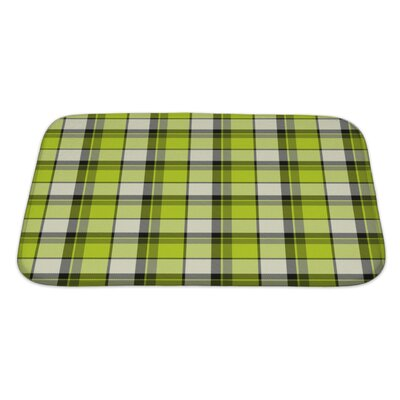 Picnic Old Cloth for Bath Rug Size: Large