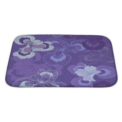 Cappa Floral Bath Rug Size: Large