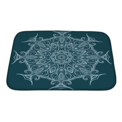 Delta Circular Ornament Bath Rug Size: Small