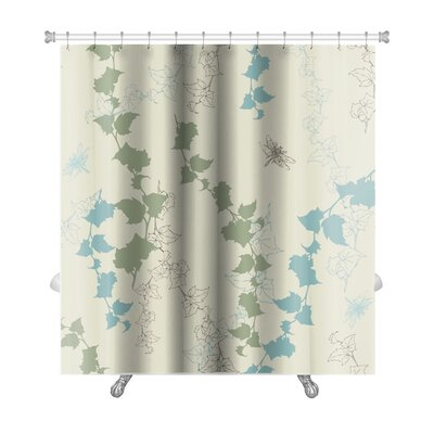 Alpha Dragonflies Premium Shower Curtain