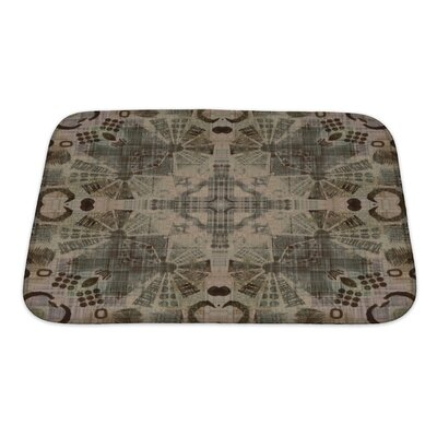 Primo Ornamental Vintage Pattern Bath Rug Size: Small