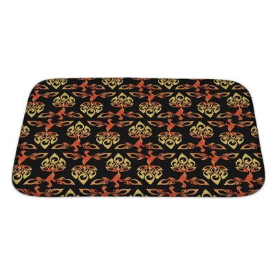Alpha Firebird Bath Rug Size: Large