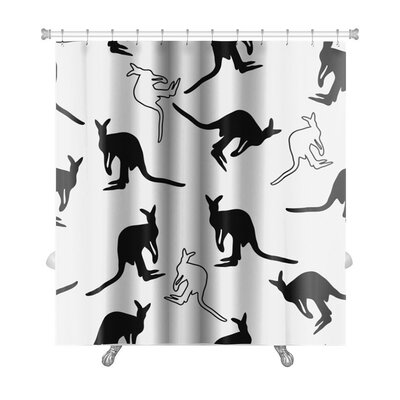 Animals Kangaroo Premium Shower Curtain